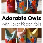 Crafts From Toilet Paper Rolls Adorable Toilet Paper Roll Owl Craft Happy Hooligans crafts from toilet paper rolls|getfuncraft.com