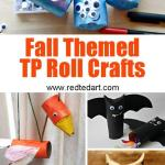 Crafts From Toilet Paper Rolls Fall Tp Crafts crafts from toilet paper rolls|getfuncraft.com