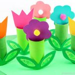 Crafts From Toilet Paper Rolls Toilet Paper Roll Flower Craft crafts from toilet paper rolls|getfuncraft.com