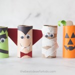Crafts With Toilet Paper Rolls Halloween Paper Roll Crafts