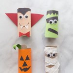 Crafts With Toilet Paper Rolls Halloween Toilet Paper Roll Crafts