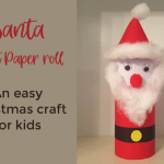Crafts With Toilet Paper Rolls Santa Paper Roll Craft Easy Christmas Craft For Kids 1024x677