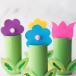 Crafts With Toilet Paper Rolls Toilet Paper Roll Flowers crafts with toilet paper rolls |getfuncraft.com