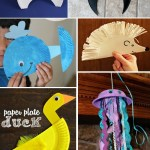 Duck Paper Plate Craft 22 Paper Plate Animals A duck paper plate craft|getfuncraft.com