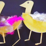 Duck Paper Plate Craft 6 Little Ducks Arts And Crafts