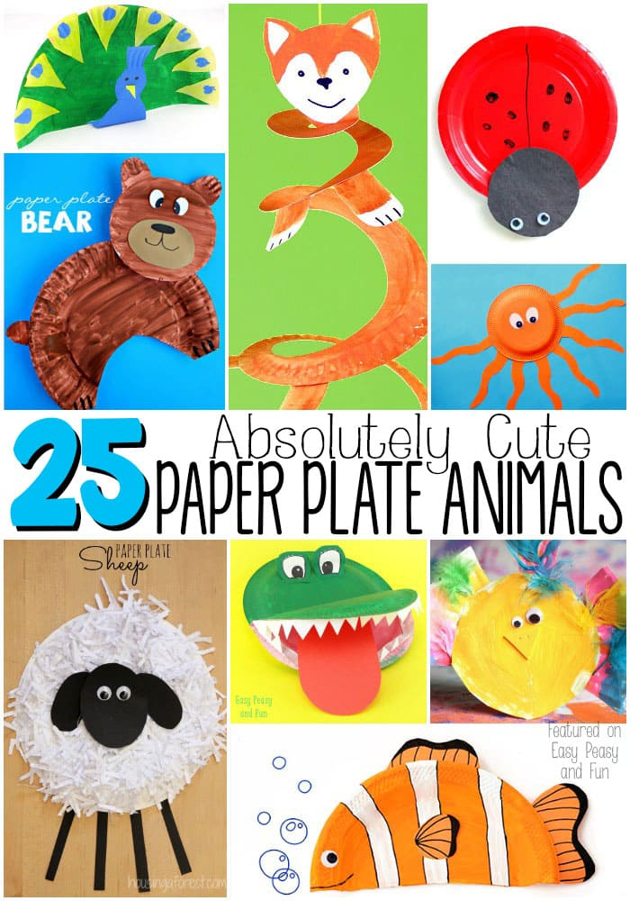 Duck Paper Plate Craft Absolutely Cute Paper Plate Animals duck paper plate craft|getfuncraft.com