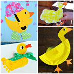 Duck Paper Plate Craft Cute Duck Crafts For Kids