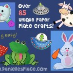 Duck Paper Plate Craft Paper Plate Crafts duck paper plate craft|getfuncraft.com