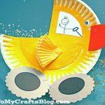 Duck Paper Plate Craft Paper Plate Duck Truck Kid Craft 5 duck paper plate craft|getfuncraft.com