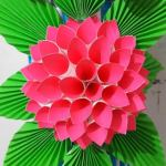 Flower From Paper Craft Fkh33aljs8ugwsmrge