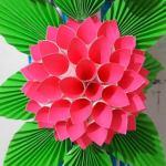 Flower From Paper Craft Fkh33aljs8ugwsmrge
