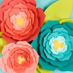Flower From Paper Craft Giant Paper Flowers flower from paper craft|getfuncraft.com