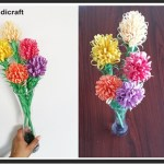 Flower From Paper Craft How To Make Paper Flowers Diy Easy Paper Craft