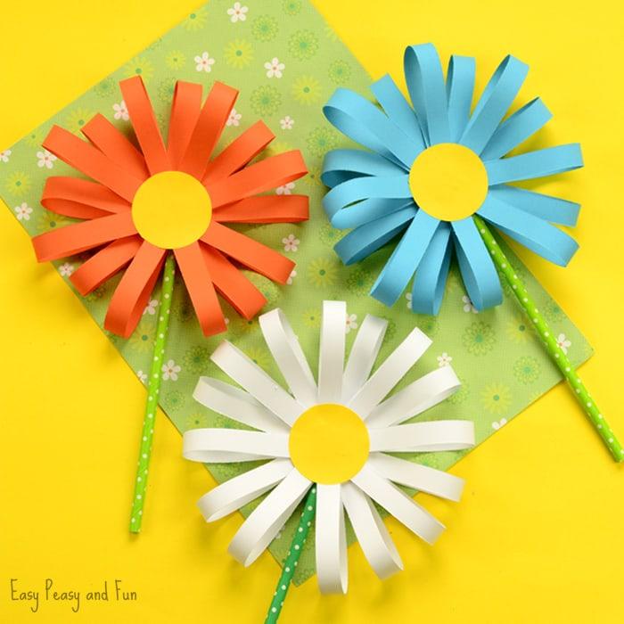 Flower From Paper Craft Paper Flower Craft flower from paper craft|getfuncraft.com
