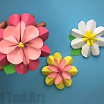 Flower From Paper Craft Paper Flower Diy