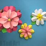 Flower From Paper Craft Paper Flower Diy