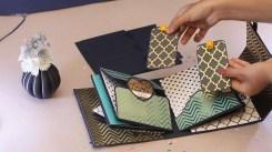 How to Create the Scrapbook Ideas Baby Royal Briefcase Album Suitcase Album Handmade Scrapbook Ideas