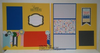 Lovable Couple Scrapbook Pages Ideas Hollyscrafting Amazing Birthday Scrapbook Pages