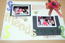 Lovable Couple Scrapbook Pages Ideas How To Complete Your First Scrapbook Page 7 Steps With Pictures