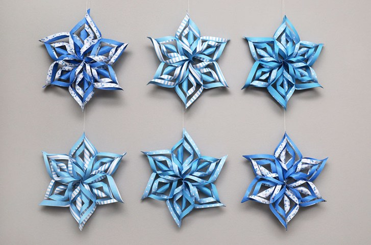 Magical Paper Snowflake Craft Ideas for Your Home