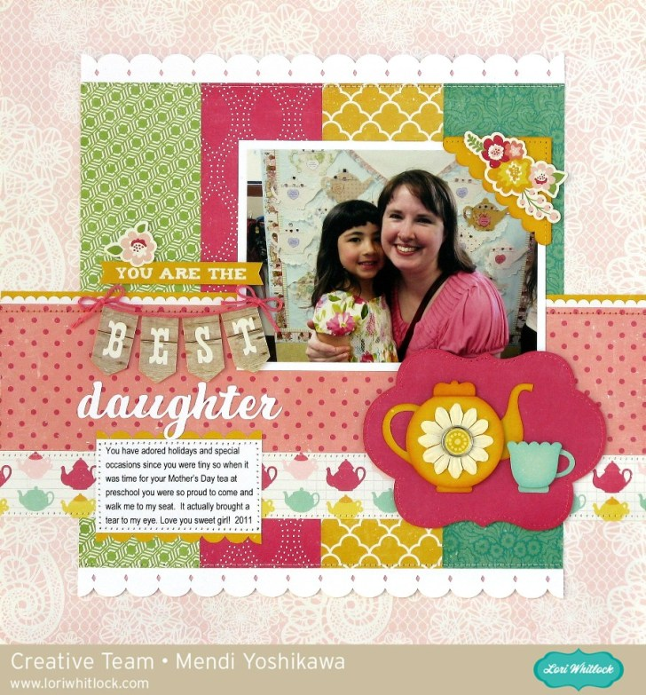 Making the First Day of Preschool Scrapbook