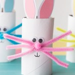 Octopus Toilet Paper Roll Craft Paper Roll Bunny Cover