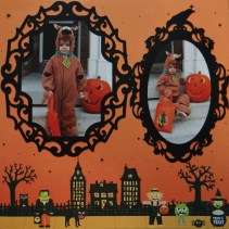 Ornaments to Apply on Halloween Scrapbook Pages Halloween Scrapbook 2 Me And My Cricut