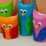 Owl Craft Toilet Paper Roll Cute Owls Toilet Paper Rolls owl craft toilet paper roll|getfuncraft.com
