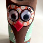 Owl Craft Toilet Paper Roll Make An Owl Out Of A Toilet Paper Roll