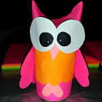 Owl Craft Toilet Paper Roll Toilet Paper Roll Owl Craft For Kids