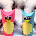 Owl Craft Toilet Paper Roll Too Cute Toilet Paper Roll Owls Large600 Id 844695