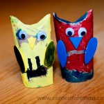 Owl Craft Toilet Paper Roll Transformerowls2