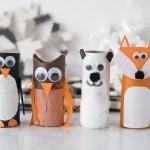 Owl Craft Toilet Paper Roll Winter Toilet Paper Roll Animals Cover owl craft toilet paper roll|getfuncraft.com