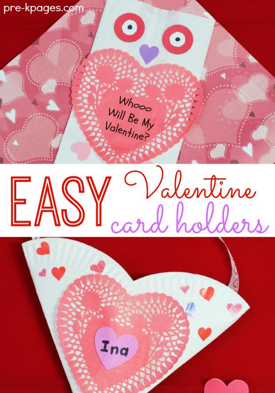 Paper Bag Valentine Crafts Easy Valentine Card Holders paper bag valentine crafts |getfuncraft.com