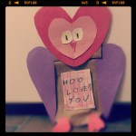 Paper Bag Valentine Crafts Hoolovesyouvdaycraft