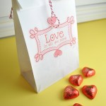Paper Bag Valentine Crafts Valentines Printable Paper Bag
