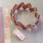 Paper Chain Craft Paper Chain Bracelet Post E1514065670594