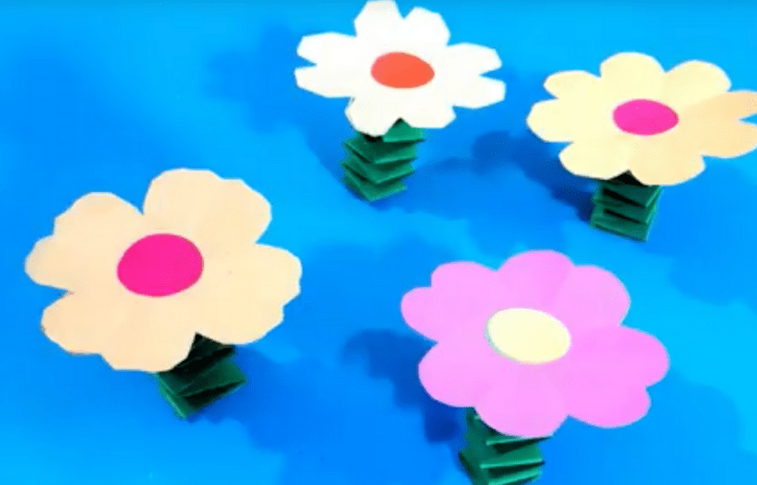 Paper Craft For Kids Flowers 10 21 paper craft for kids flowers|getfuncraft.com