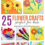 Paper Craft For Kids Flowers 25 Flower Crafts For Kids 1