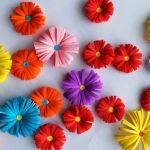 Paper Craft For Kids Flowers Origami Paper Flowers