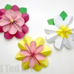 Paper Craft For Kids Flowers Paper Flowers