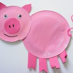 Paper Plate Pig Craft Paper Plate Pig 2