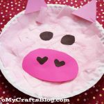 Paper Plate Pig Craft Paper Plate Pig Kid Craft 1 1024x683