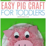 Paper Plate Pig Craft Pig Crafts For Toddlers Paper Plates Preschool