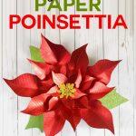 Paper Poinsettia Craft Giant Paper Poinsettia Flower Pattern P 700x1017