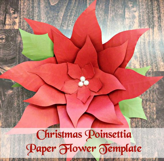 Paper Poinsettia Craft Il 570xn 1640715954 J6vo paper poinsettia craft|getfuncraft.com