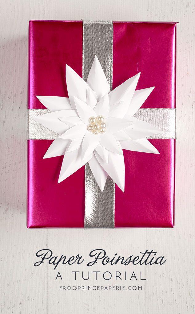 Paper Poinsettia Craft Paper Poinsetta Tutorial 634x1018 paper poinsettia craft getfuncraft.com