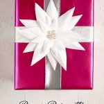 Paper Poinsettia Craft Paper Poinsetta Tutorial 634x1018