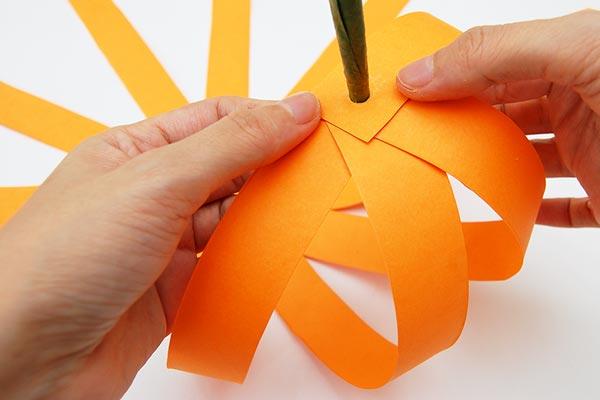Paper Pumpkin Crafts