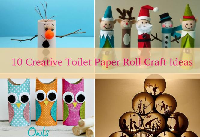 Paper Roll Craft Ideas 10 Creative Diy Toilet Paper Roll Craft Ideas Thumbnil Img paper roll craft ideas |getfuncraft.com